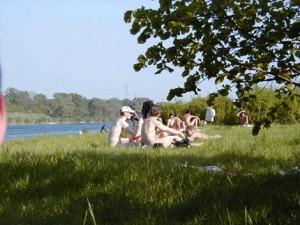 Nude Danube - Vienna - Wien